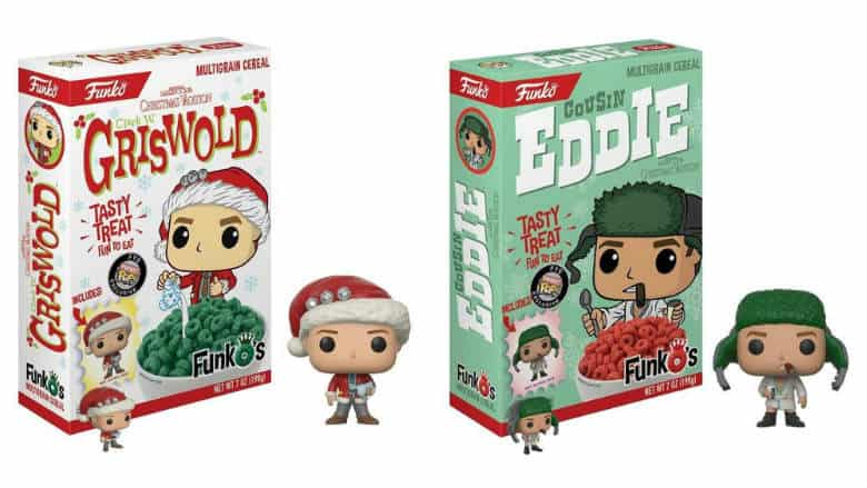 Christmas Vacation Funko Cereal Brings Clark And Eddie To Breakfast Nerd Much