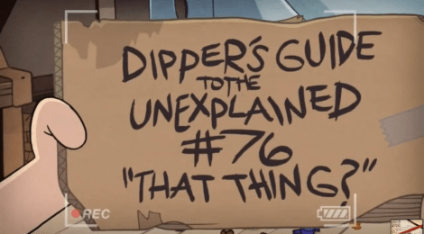 Dipper's Guide to the Unexplained is pure, concentrated awesome