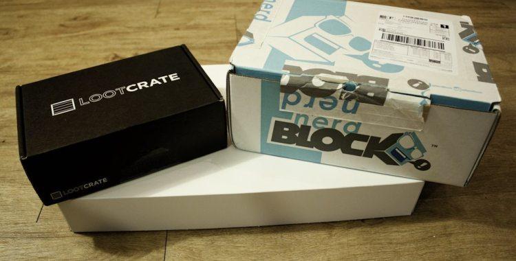 Unboxing April 2014: Loot Crate vs. Nerd Block