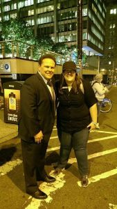 Kevin Chapman and Me, NYC for NYCC 2014