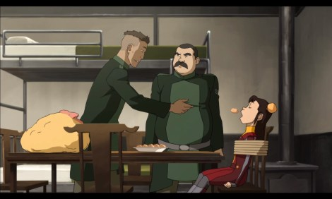 Best kidnappers ever. Also is that crappy undercut regulation hairstyle for Kuvira's goonies? [fansided.com]