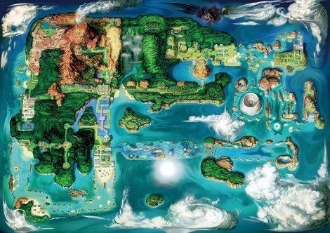 Hoenn Region in 3D [Bulbapedia]