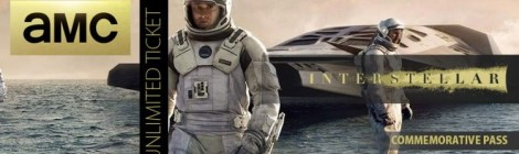 "AMC Introduces Unlimited Pass for ""Interstellar"""