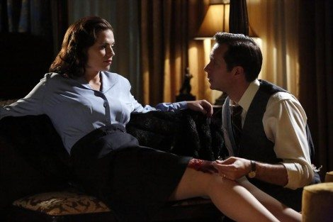 I hope Tony heard stories of Peggy when he was younger. [ABC]