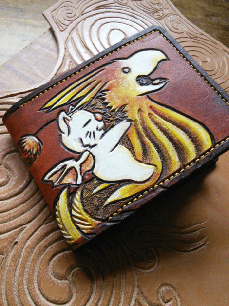 Chocobo Wallet! [Etsy]