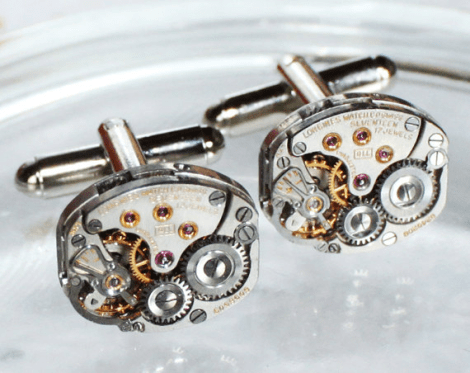 Cuff links [Etsy]