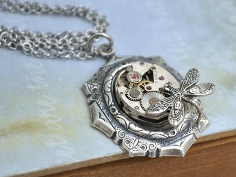 Steampunk Necklace! [Etsy]