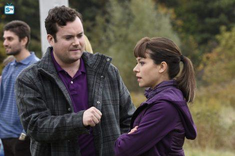 "Donnie: ""Fist me."" Alison: ""No."" [spoilertv.com]"