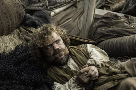 Tyrion has had enough of Jorah's mad attempt to win favor with Dany [HBO]