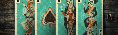 Kickstarter Watch: Fuego! Day of the Dead Inspired Playing Cards