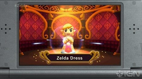 Triforce Heroes also includes costumes, which give the characters powers like increased speed, bomb carrying, and challenging gender norms. [IGN]