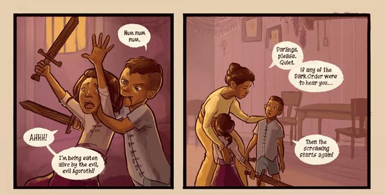 Kickstarter Watch: SCHISMATIC [a comic book mini series]