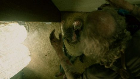This was kind of hilarious, then gruesomely awful, then a little bit hilarious again. [SyFy]