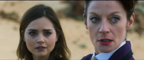 Clara and Missy regroup in the desert [BBC Worldwide Limited]