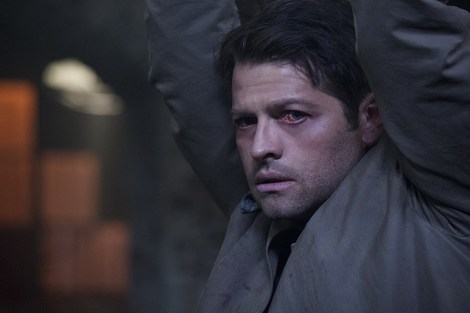 Castiel just can't catch a break [ Carole Segal/The CW]