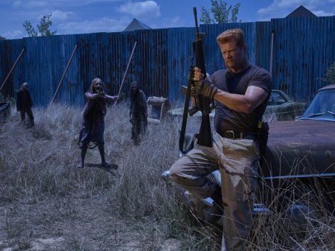 Michael Cudlitz as Abraham - The Walking Dead _ Season 6, Gallery - Photo Credit: Frank Ockenfels 3/AMC