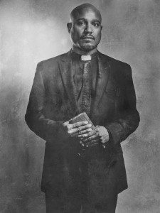 Seth Gilliam as Father Gabriel - The Walking Dead _ Season 6, Silver Portraits - Photo Credit: Frank Ockenfels 3/AMC