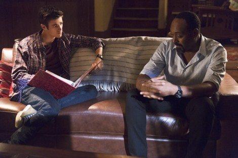 Joe and Barry, ready to turn Iris into a Doomsday Prepper [farfarawaysite.com]