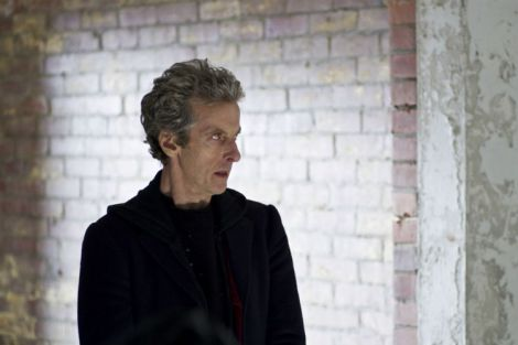 "The Doctor is ready to break all the rules in ""Before the Flood"" [Source: BBC WORLDWIDE LIMITED]"