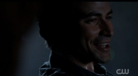 Young John Winchester has a message for his sons [Source: Supernatural]