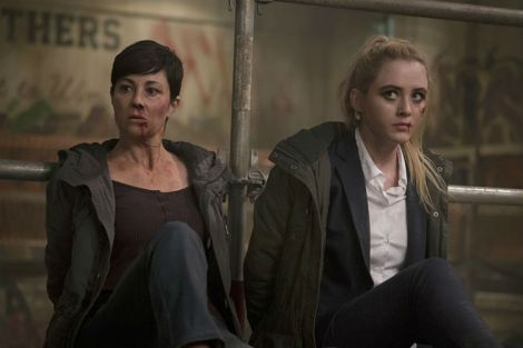 Jody and Claire are looking a little worse for wear (Source: Katie Yu/The CW)