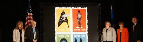 The United States Post Office Boldly Released New Stamps to Honor 50 Years of Trek at Star Trek: Mission New York