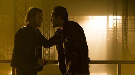 Austin Amelio as Dwight, Jeffrey Dean Morgan as Negan- The Walking Dead _ Season 7, Episode 3 - Photo Credit: Gene Page/AMC