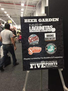Five points festival food and beer