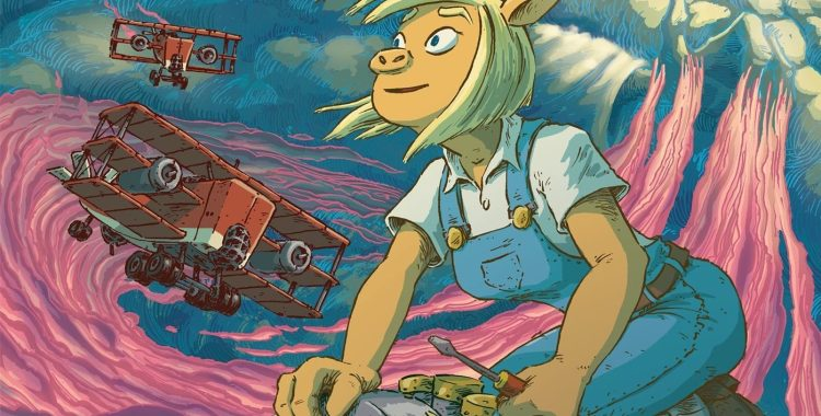 'Pigs Might Fly' is an Incredible Read Full of Science, Magic, and High Flying Swine!
