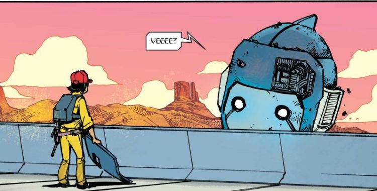 Mech Cadet Yu #1 Pleases with Team-Ups, Action & A Thrilling Genre Mashup