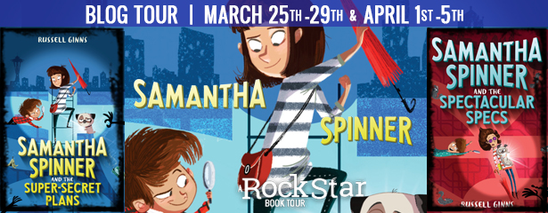 Rockstar Book Tours: Samantha Spinner Brings Kids a Series of Kooky, Quirky Mysteries [Review+Giveaway]