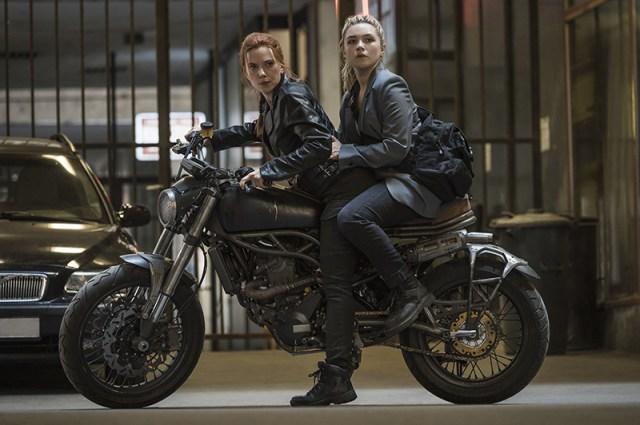 Natasha and Yelena Black Widow