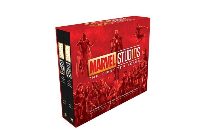 marvel studios book ten yeras