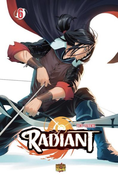 radiant manga volume 6