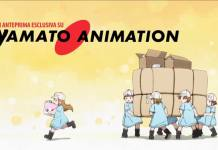 Yamato Animation Cells at work