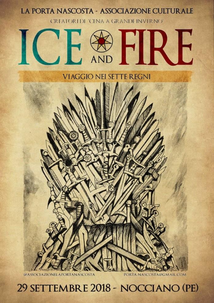 Ice and Fire: viaggio nei sette regni - locandina ufficiale