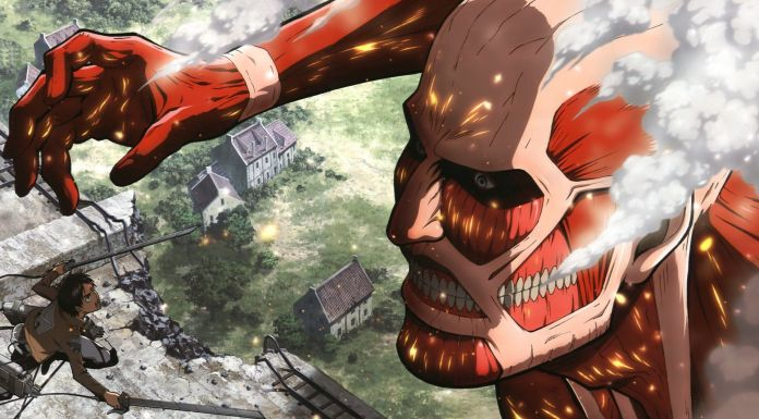 Attack on titan titano colossale