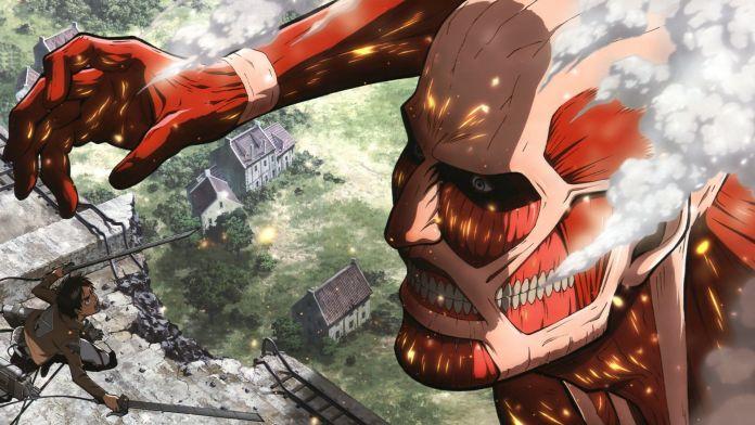 Attack on titan titano colossale