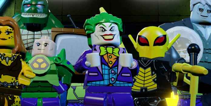 LEGO DC Super-Villains TT Games