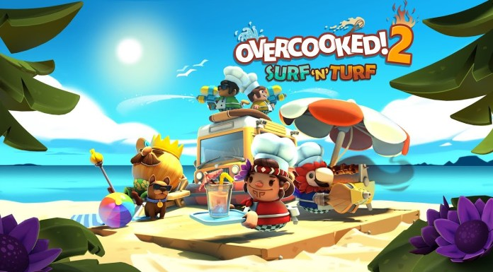 Overcooked 2 Surf n' Turf