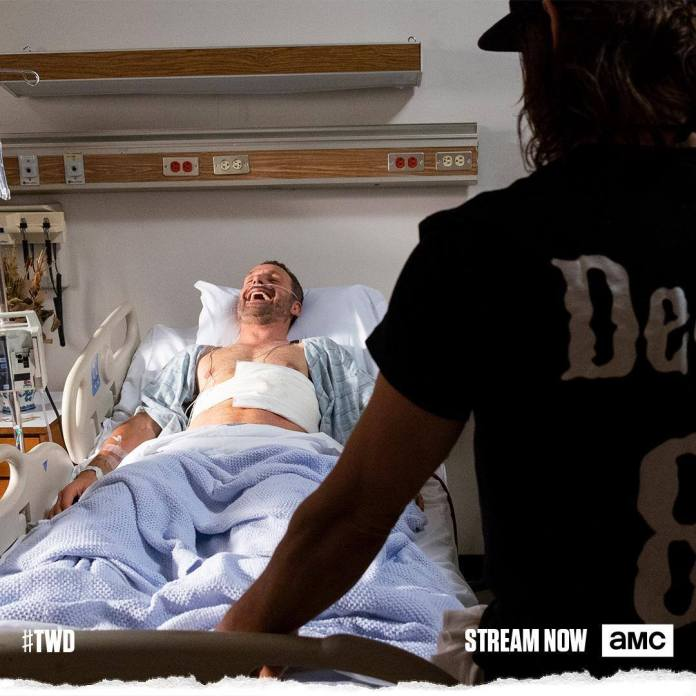 The Walking Dead - Rick Grimes e Daryl Dixon nell'ultima foto insieme