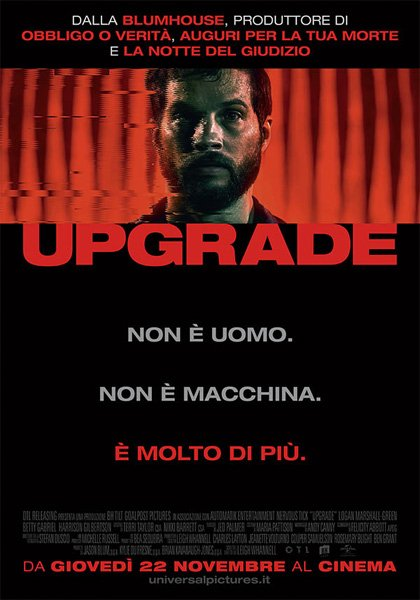 Poster - Upgrade di Leigh Whannell