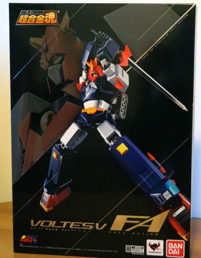GX-79 Voltes V Full Action