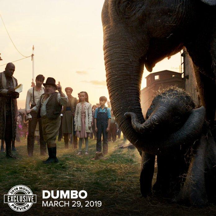live-action del film Disney Dumbo