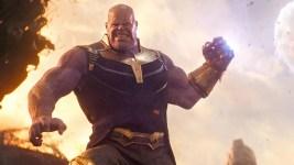Avengers: Endgame, un primo sguardo all'armatura di Thanos