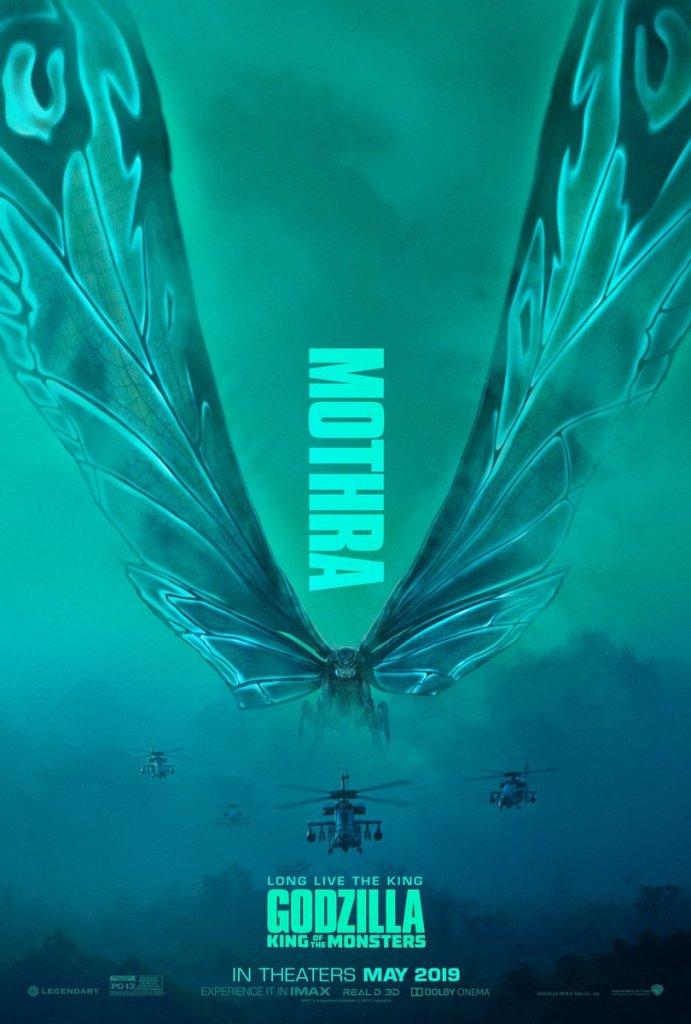 Mothra - Poster Godzilla II