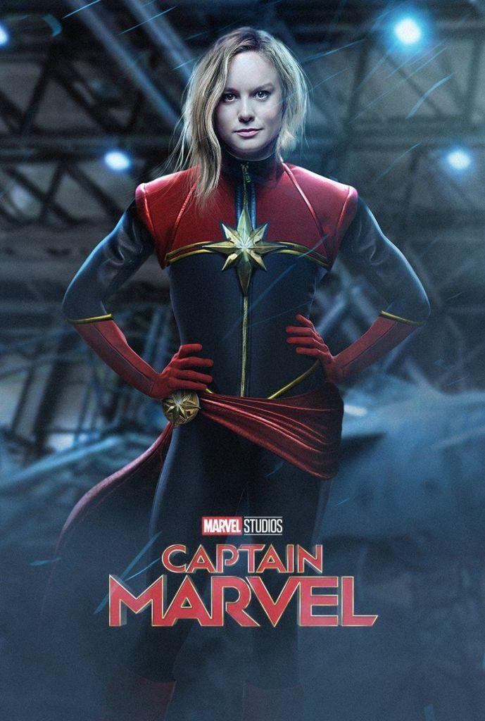 Captain Marvel- Brie Larson