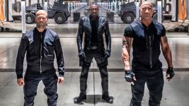 Hobbs & Shaw: un nuovo look per The Rock