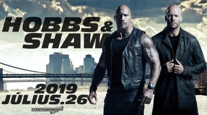 Dwayne The Rock Johnson Hobbs & Shaw Jason Statham