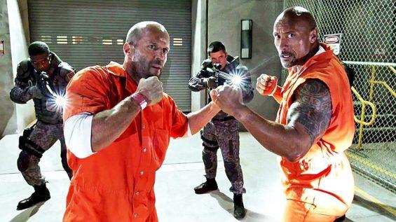 Jason Statham Dwayne The Rock Johnson Hobbs & Shaw